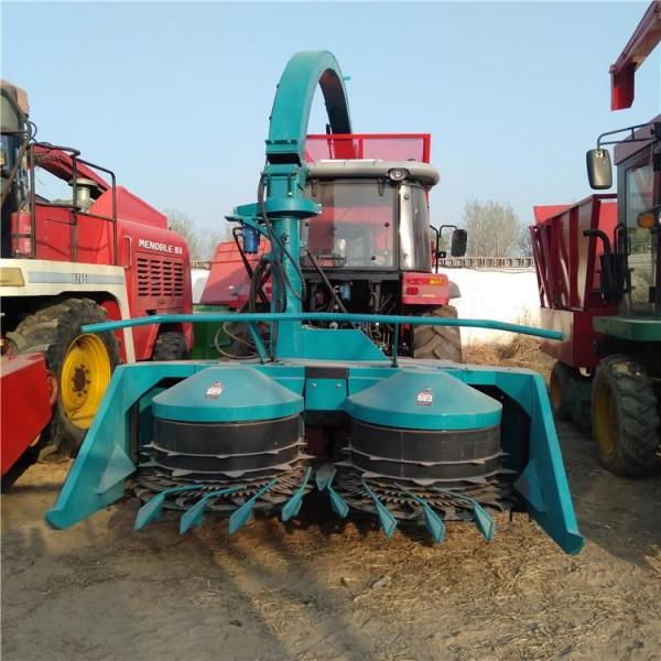 水稻小麦收割机 养牛用青储秸秆收割机 玉米秸秆青储机