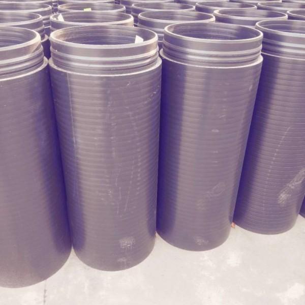 厂家直销HDPE双密封自锁承插口复合实壁管