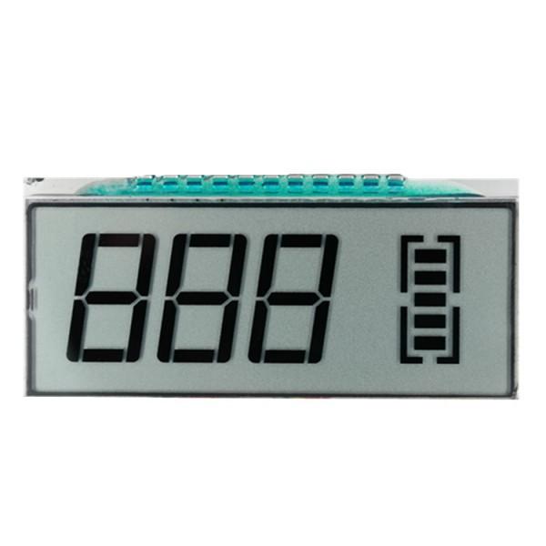 厂家可定制生产电池电量的lcd显示屏  段码液晶屏