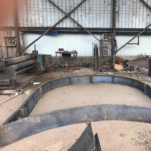 包头高速公路护坡拱形骨架钢模板厂家保定京伟