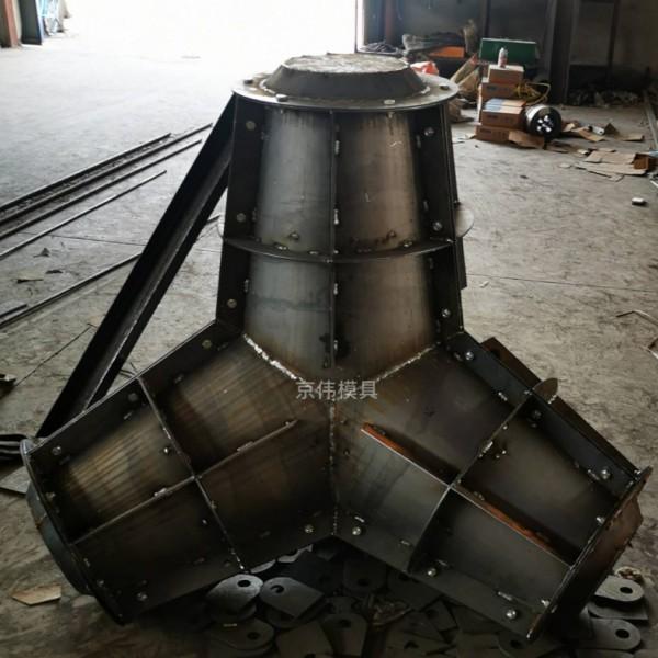 山东沿海消浪新型水泥预制防浪块钢模具厂家保定京伟