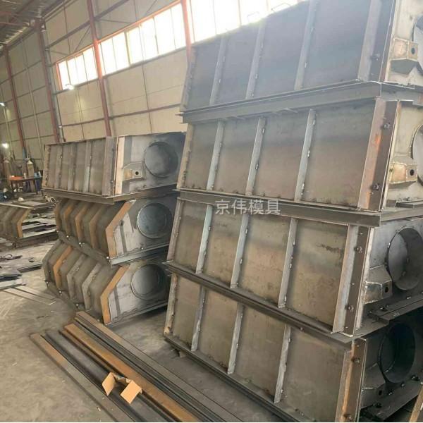 仙桃河岸两侧景观生态护坡混凝土挡土墙钢模具厂家