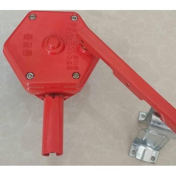 卷膜器韩式手动卷膜器温室大棚卷膜器泊头鼎真厂家批发