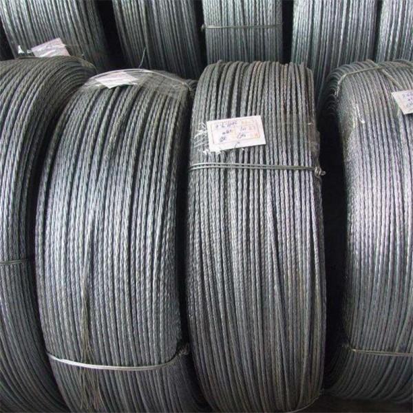 矿用钢绞线质量优 预应力钢绞线价格 热镀锌钢绞线