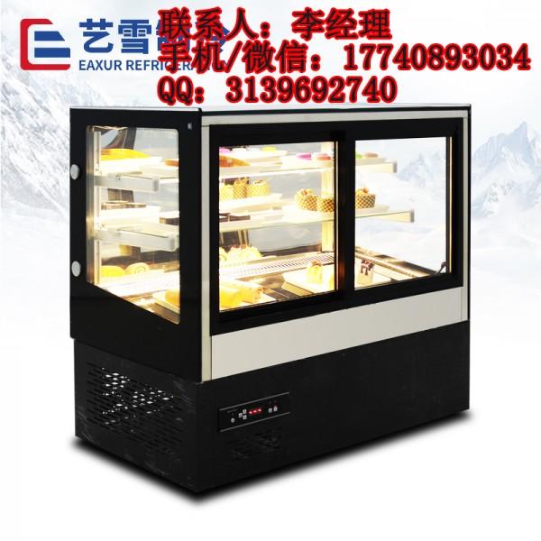 艺雪蛋糕柜_直角熟食柜-黑色