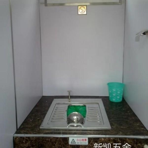 流动厕所用不锈钢打包蹲便器 工地用不锈钢免水冲不锈钢大便器