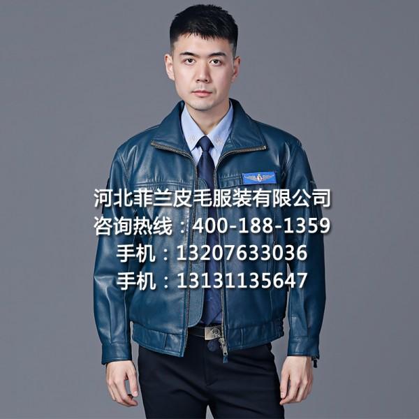 正品02春秋飞行皮衣空军飞行员皮夹克02飞行皮服