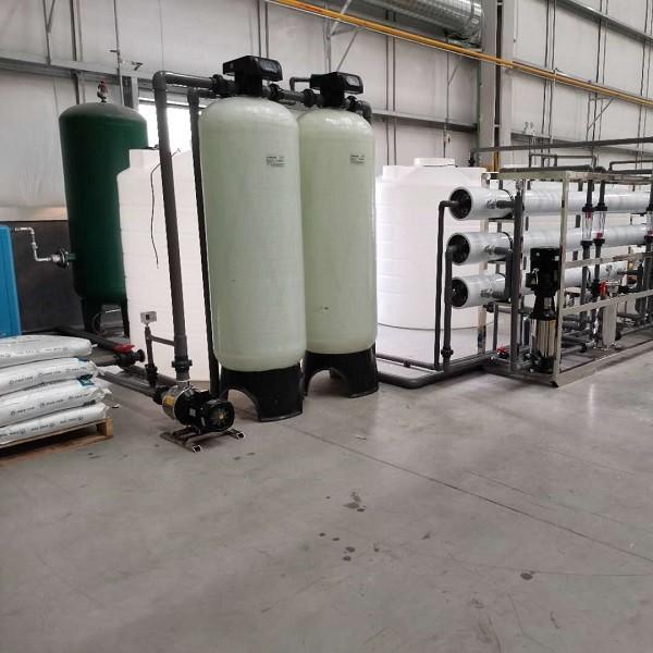 连云港水驻极超纯水设备/熔喷布用水设备/口罩用水