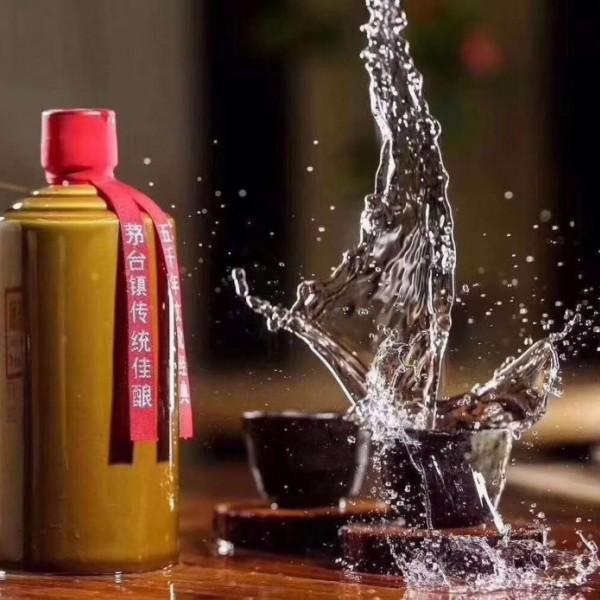 大福光瓶酒53voI优级酱香型白酒500ML*6瓶