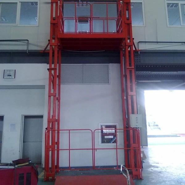 导轨式升降作业机-货梯