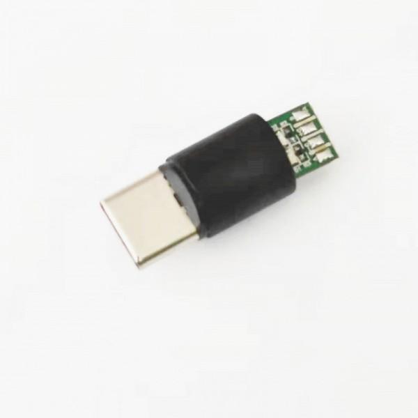 iPhone+安卓+TC三合一圆形7PIN磁吸充电5A快充
