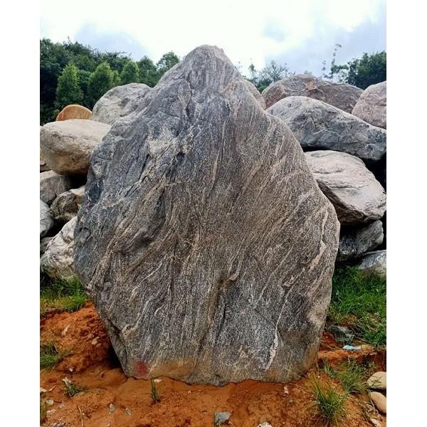 天然泰山石原石  花园庭院造景石