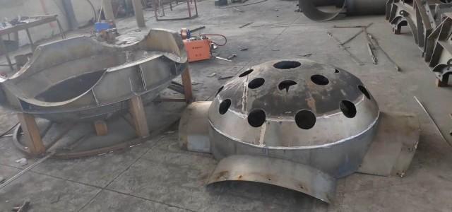 启动海洋牧场水泥预制异形生态鱼礁岛钢模具厂家保定京伟