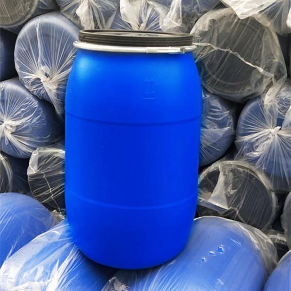 200升法兰口塑料桶200公斤抱箍塑料桶