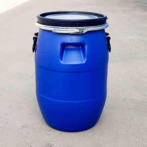 50升法兰口塑料桶50公斤抱箍桶