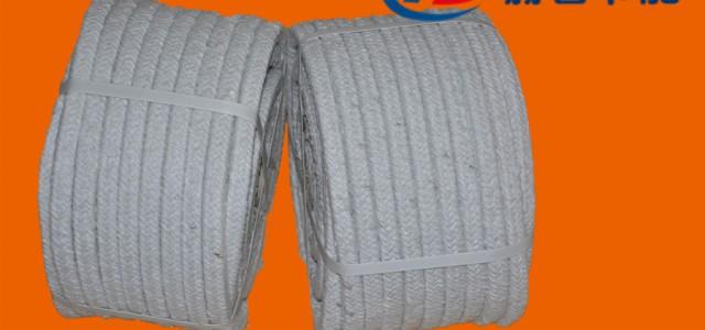 硅酸铝盘根1200度高温密封盘根硅酸铝纤维绳盘根