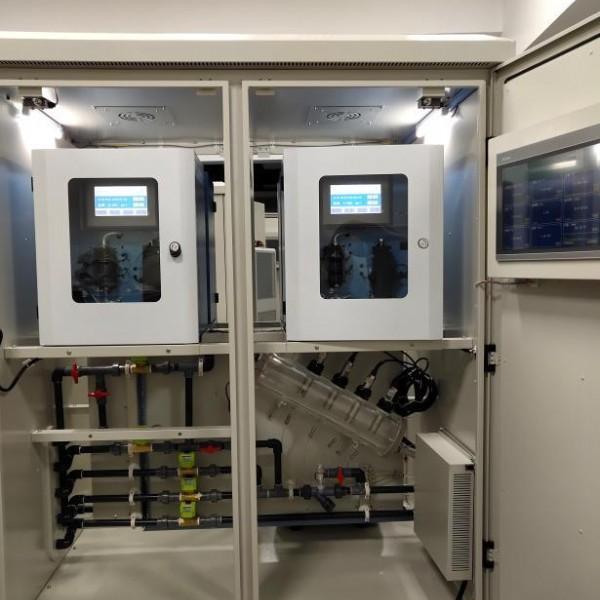 地表水跨界断面水质自动监测站房