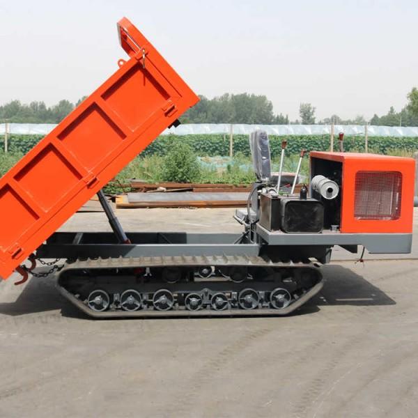 3.5吨履带自卸车 1.8方履带式爬山虎搬运车厂家直销