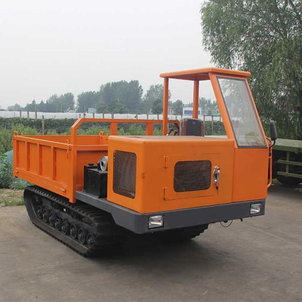 履带式爬山虎运输车 4吨工程用自卸翻斗运输车现货