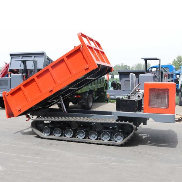 厂家现货5吨座驾式履带搬运车 全地形履带运输车自卸车
