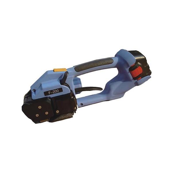 东莞直销F-200手提免扣捆包工具,电动热熔免扣打包机