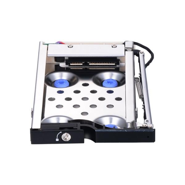 车载防震2.5寸SATA铝合金热插拔硬盘存储托架