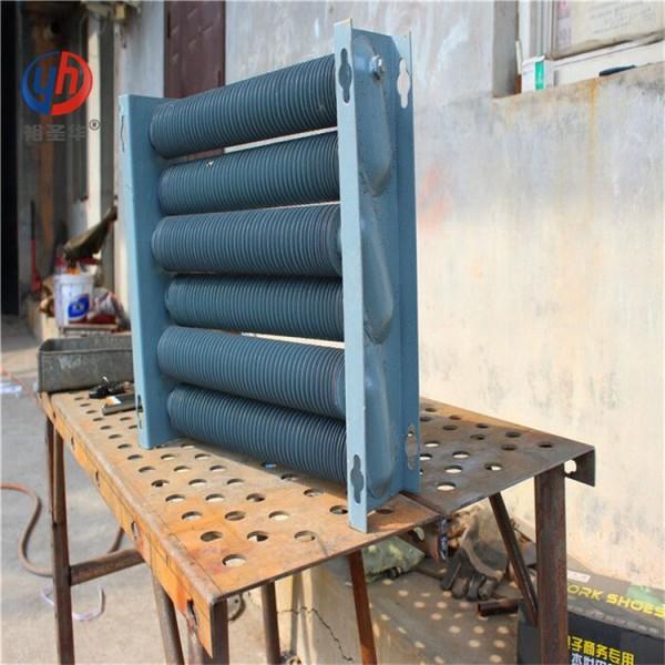 25(6分)蒸汽用翅片管散热器原理