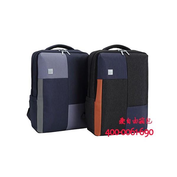 定制简约商务电脑包男时尚学生书包休闲电脑包