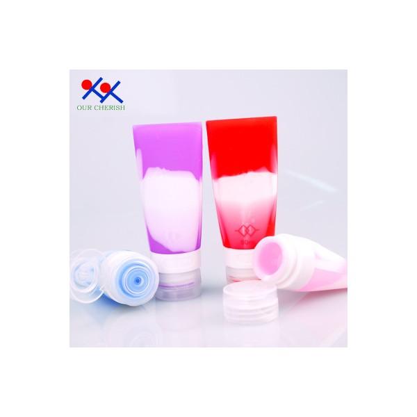旅行分装瓶硅胶便携防漏洗发水化妆品分装小样空瓶子套装
