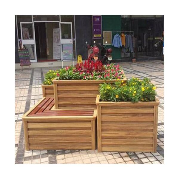 木纹铝合金花箱价格便宜又耐用
