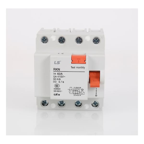 空气开关LS产电代理小型空气断路器BKN 3P+N D63A