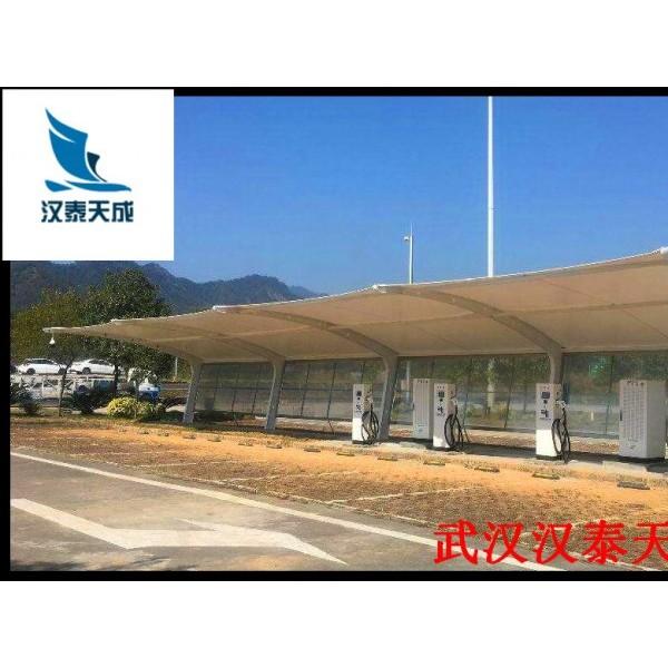 监利球场顶棚膜结构 汉泰膜结构维修 监利遮阳棚膜结构造价
