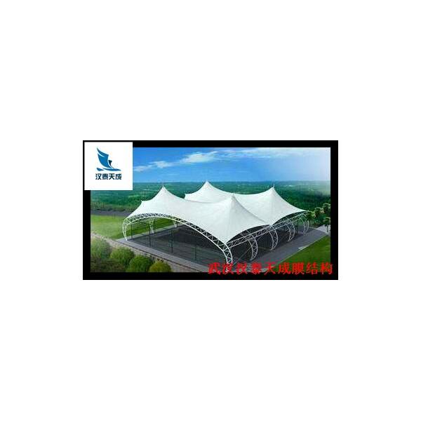 石首游泳池膜结构 汉泰膜结构维修 石首遮雨棚钢膜结构