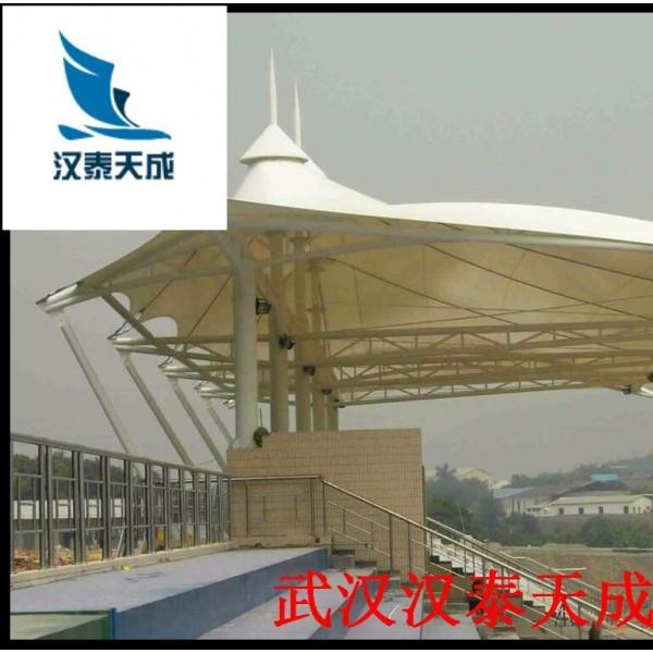 黄石候车站台//车站膜结构 膜结构维修 黄石遮雨棚膜结构