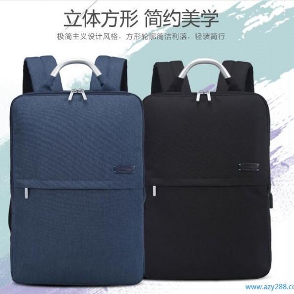 新款男士背包防水尼龙双肩包商务笔记本电脑背包
