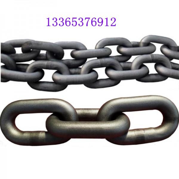 34*126刮板机圆环链条 锻打热处理矿用起重链条客户放心