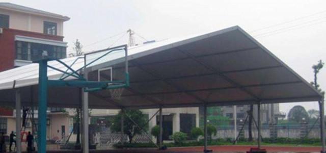 山东篮球馆篷房厂家 设计定做篮球训练营大蓬 亚太篷房制造公司