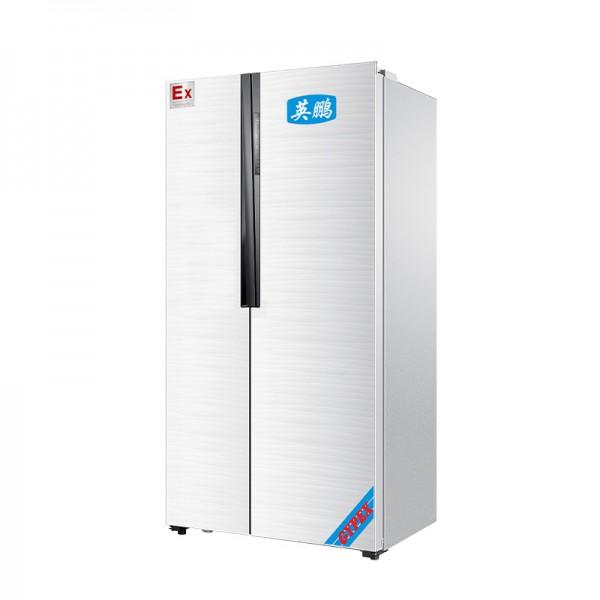 实验室防爆冰箱双温对开门500L