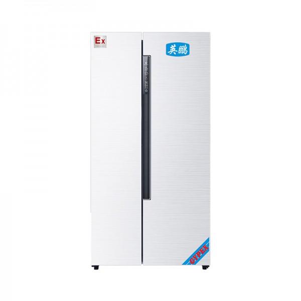 双温对开门防爆冰箱600L