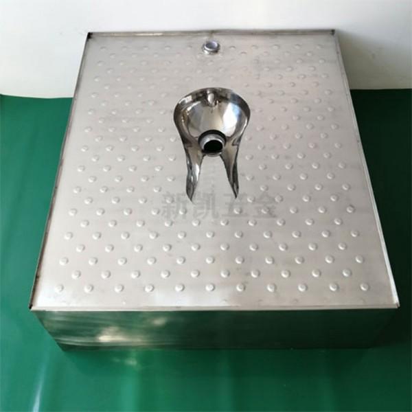 移动厕所整体地板蹲便器 不锈钢地板蹲便器