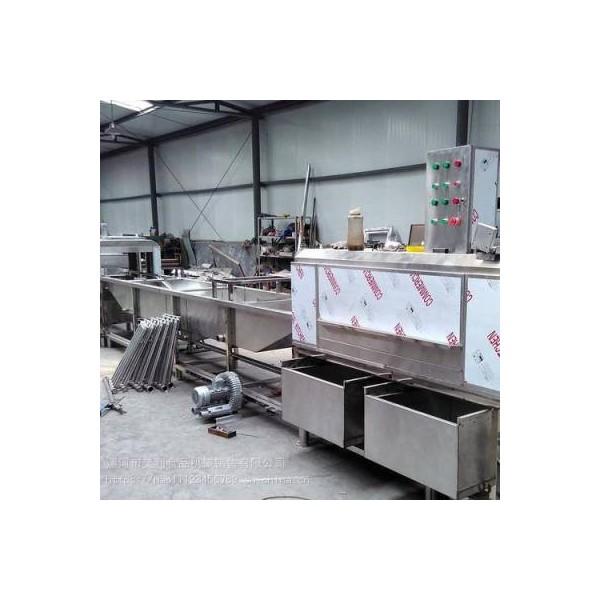昊利HL-cjqx1000 餐具自动清洗线