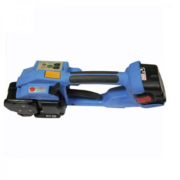 手提式电动打包机塑带打带机无缝钢管手提免扣打包机全自动捆扎机
