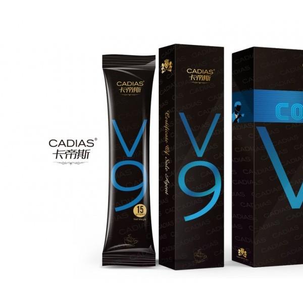 卡帝斯V9养生咖啡厂家卡帝斯V9咖啡价格是多少?