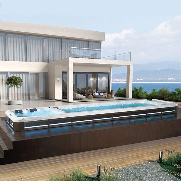 酒店游泳池厂家-无边游泳池价格-无尽头泳池安装