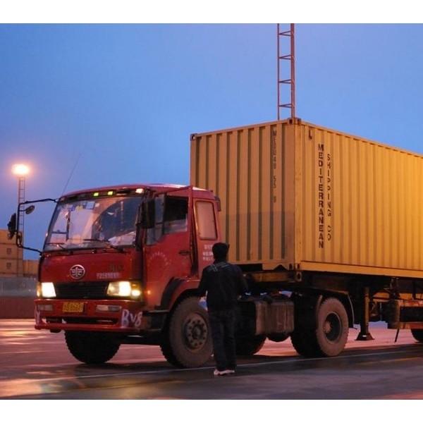 上海外港拖车报关服务