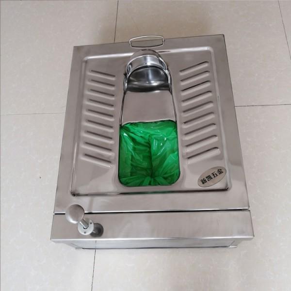 公共厕所不锈钢打包蹲便器 机械打包不锈钢蹲便器