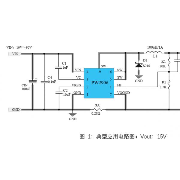 42V转24V,20V, 9V降压电源芯片,1A-3A选型