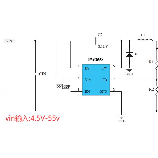 42V转24V,12V,9V降压电源芯片,1A-3A选型