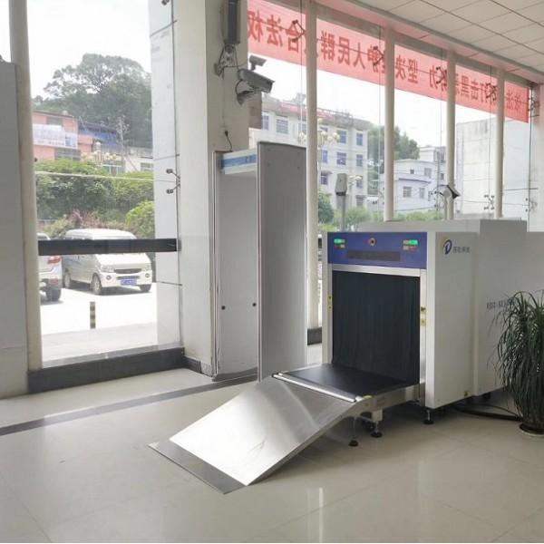 琼玖100100车站安检机,AI智能识别危险液体和管制刀具