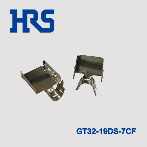 GT32-19DS-7CF广濑19PIN通孔汽车连接器配件